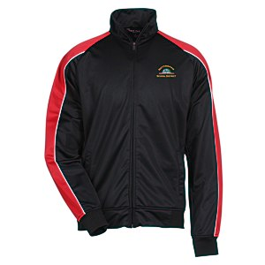 Piped Colorblock Tricot Track Jacket - Men's Main Image