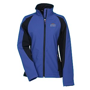 Sport Colorblock Soft Shell Jacket - Ladies' Main Image