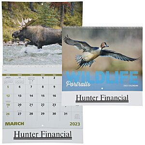 Wildlife Portraits Calendar - Spiral - 24 hr Main Image