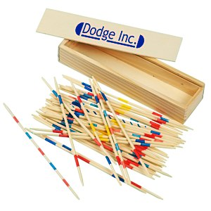 Pick-Up Sticks in Wood Box Main Image