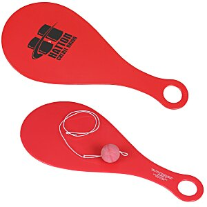 Plastic Paddle Ball Game