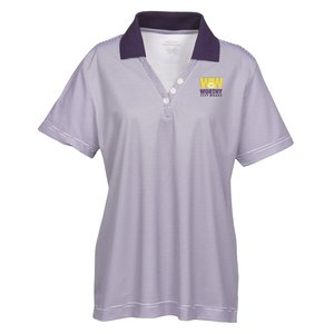 Launch Snag Protection Striped Performance Polo - Ladies Main Image