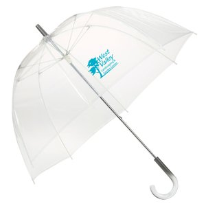 "Clear Bubble Umbrella - 48"" Arc Main Image"