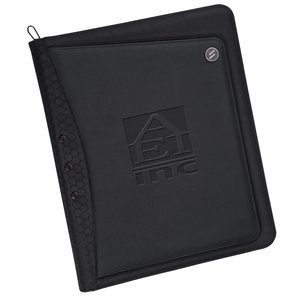 elleven Vapor Zippered Padfolio Main Image