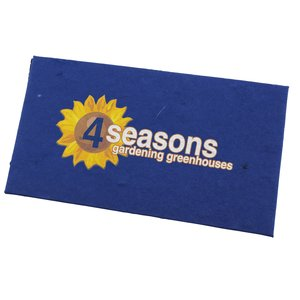 Seeded Gift Card Holder - Wildflowers Main Image