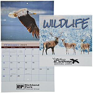 Wildlife Calendar - Spiral - 24 hr Main Image