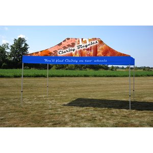 10' x 15' Deluxe Event Tent - Full Color Main Image