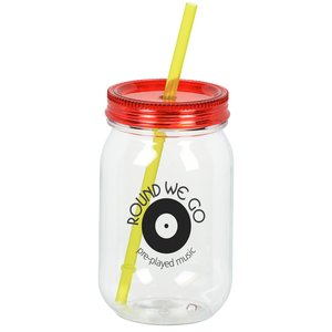 Color Palette Mason Jar Tumbler - 28 oz. Main Image