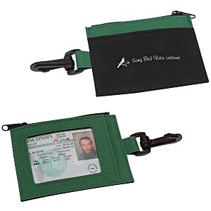 Zip Pouch ID Holder - Colors - 24 hr Main Image