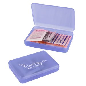 Compact First Aid Kit - Translucent - 24 hr Main Image