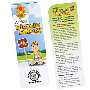 Just the Facts Bookmark - Bicycle Safety