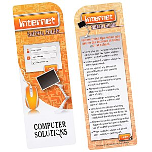 Just the Facts Bookmark - Internet Safety Main Image
