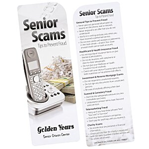 Just the Facts Bookmark - Senior Scams Main Image
