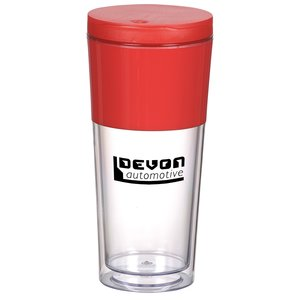 Color Band Travel Tumbler - 16 oz. Main Image