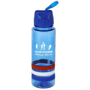 Patriotic Stripe Sport Bottle - 24 oz.