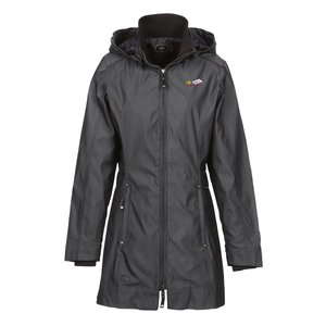 OGIO Dobby Hooded Soft Shell Jacket - Ladies' Main Image