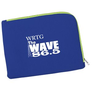 Two-Tone Zippered Tablet Sleeve Main Image