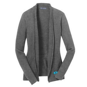 Fine Gauge Open Front Cardigan - Ladies'