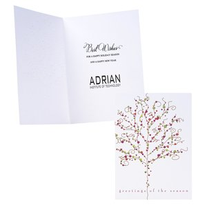 Baubles & Branches Greeting Card