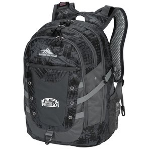 High Sierra Tactic Laptop Backpack Main Image
