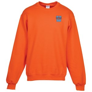 Jerzees NuBlend Crewneck Sweatshirt - Embroidered Main Image
