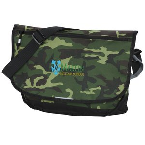 Blaze Computer Messenger Bag - Camo - Embroidered Main Image
