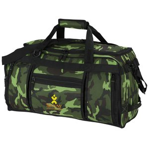 Navigator Weekender Duffel - Camo - Embroidered Main Image