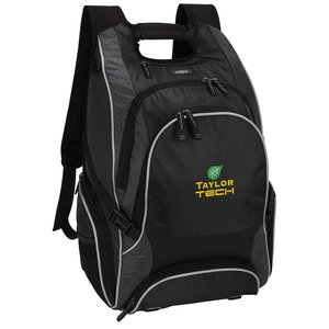elleven Drive Checkpoint-Friendly Laptop Backpack - Embroidered Main Image