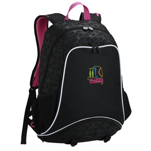 Mia Sport Laptop Backpack- Embroidered Main Image