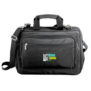 Microfiber Laptop Bag - Embroidered Main Image