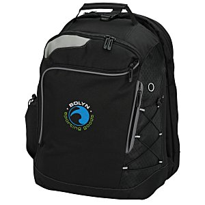 Summit Checkpoint-Friendly Laptop Backpack - Emb Main Image