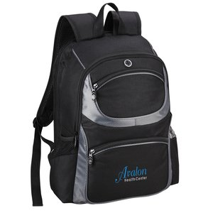 Continental Checkpoint-Friendly Laptop Backpack - Embroidered Main Image