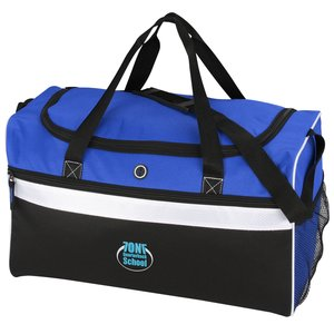 Big Stripe Duffel - Embroidered Main Image