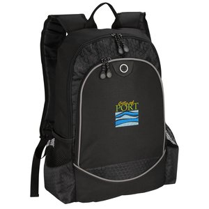 Hive Laptop Backpack - Embroidered Main Image