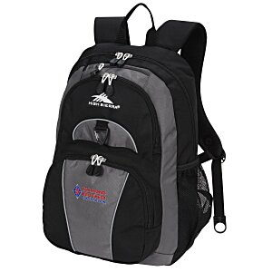 High Sierra Enzo Backpack - Embroidered Main Image