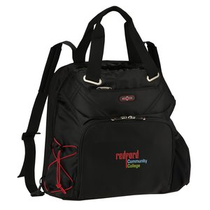 elleven Checkpoint-Friendly Backpack Tote - Embroidered Main Image