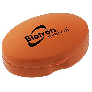 Oval Pill Box - Opaque Main Image