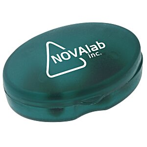 Oval Pill Box - Translucent Main Image
