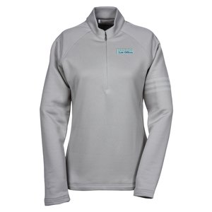 adidas Performance 1/2 Zip Training Pullover - Ladies' - Emb