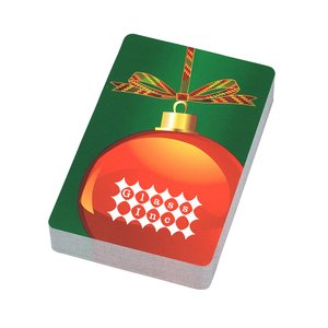 Holiday Playing Cards - Ornament Main Image