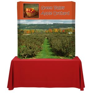 Backlit HopUp Curved Tabletop Display - 5'- Replacement Graphic Main Image