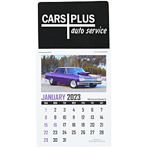 Muscle Car Stick Up Calendar - Rectangle Main Image