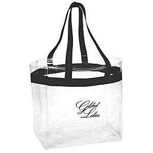 Game Day Clear Tote Main Image