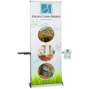 Excalibur Double Sided Ret Banner with Table & Lit Pocket Main Image