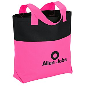 Neon Two-Tone Accent Tote Main Image