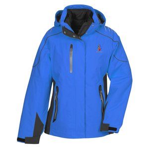 Teton 3-in-1 Waterproof Jacket - Ladies' - TE Transfer Main Image