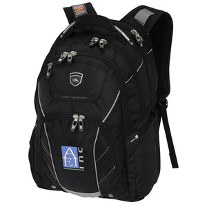 High Sierra Elite Fly-By Laptop Backpack - Embroidered Main Image