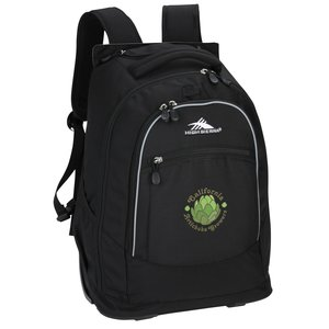 High Sierra Chaser Wheeled Laptop-Backpack - Embroidered Main Image