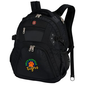Wenger Edge Laptop Backpack - Embroidered Main Image