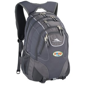 High Sierra Vortex Fly-By Laptop Backpack - Embroidered Main Image